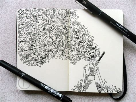 awesome pen doodles random doodles by kerby rosanes the rest