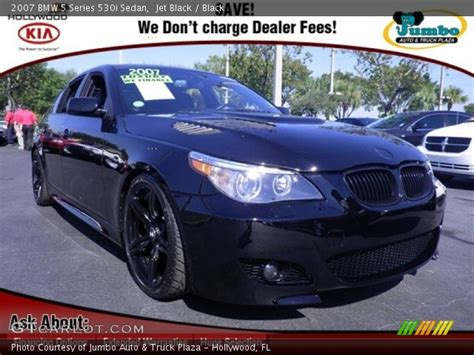 jet black  bmw  series  sedan black interior
