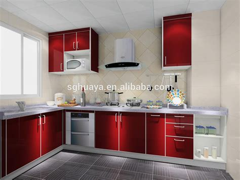 Aluminium Kitchen Cabinet 2014 Newest Aluminium Kitchen Cabinet Model High Gloss Kitchen Cabinet Simple Design Buy