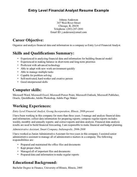 what are some objectives for a resume exles of resumes resume objective statements for