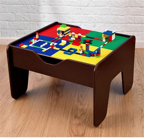 lego activity table with storage lego table 2 in 1 activity set storage wooden