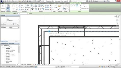 revit tutorial grid adding grids to the model