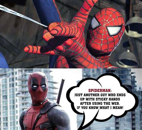 Dead Pool Meme - funny deadpool described spider man in the best way