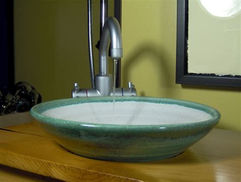 eye catching vessel bathroom sinks in glass the new way