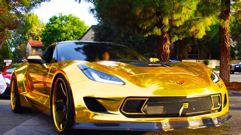 gold corvette pranking my roommate stealing his gold corvette ask