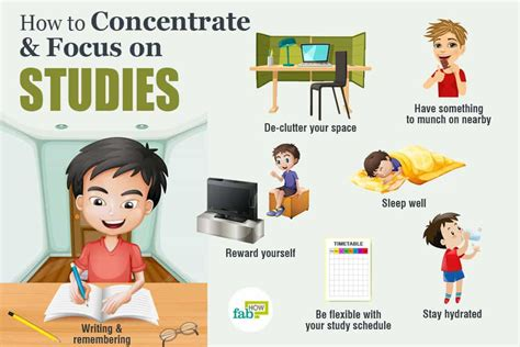 how to concentrate and focus on studies 30 powerful tips