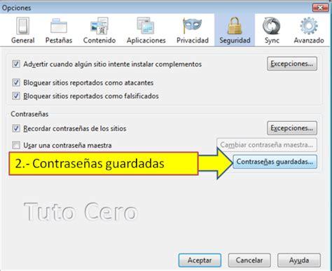 imagenes guardadas en gmail ver contrase 241 as guardadas en mozilla firefox tutorial