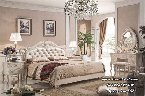Livien Meja Konsol Provence White harga kamar tidur utama mewah murah ksu 307 kamar set