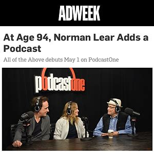 norman lear podcast podcastone about