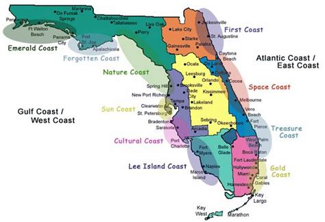 florida west coast map florida gulf coast island map memes