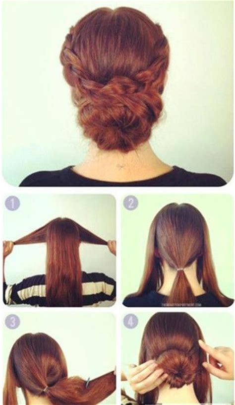 step by step easy updos for thin hair the dignified simple updo hairstyle tutorial hair and
