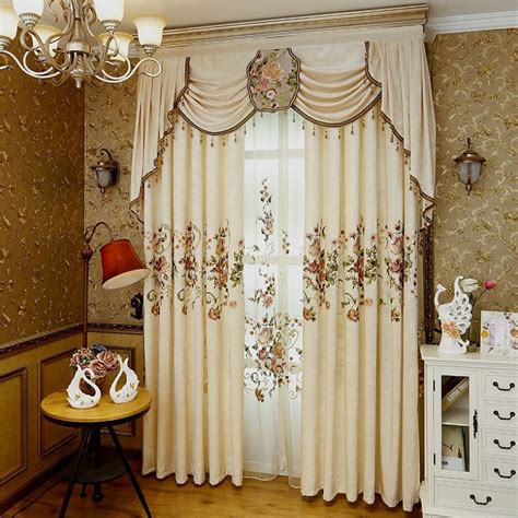 Luxury Dining Room Curtains 2017 New Luxury Curtains For Living Dining Room Bedroom