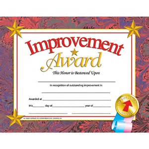 student of the year award certificate templates improvement award student certificate end of the school