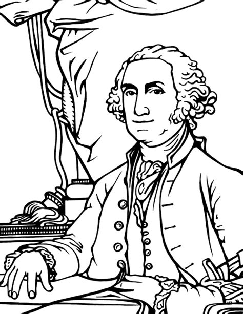 washington coloring pages george washington coloring page coloring book