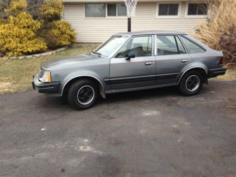 purchase used 1985 mercury lynx diesel 60mpg no reserve in levittown pennsylvania united states