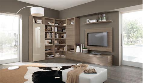 mobili soggiorno angolo soggiorno moderno con camino ad angolo idee per il