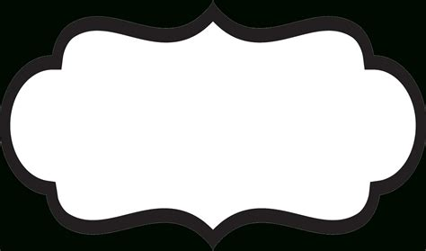 Template For Labels by Fancy Label Templates Transparent World Of Label