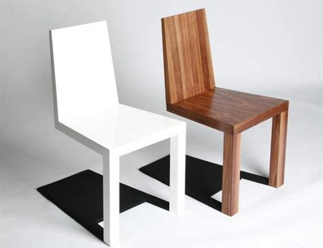 chair design optical illusion furniture creepy shadow chair design