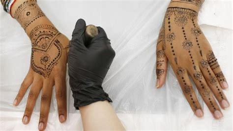 tato henna di tangan simple henna untuk anak kecil makedes
