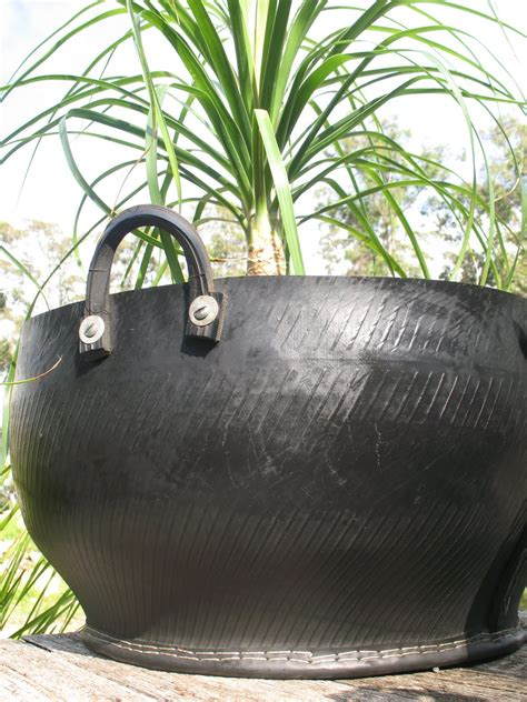 How To Make Recycled Tire Planters by Ubeauty Pots And Plants Recycled Tyre Pots