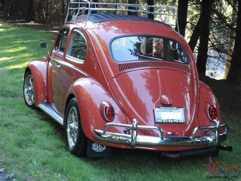 vintage volkswagen vw rag top  beetle high performance engine beautiful