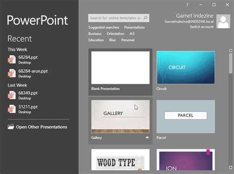 powerpoint widescreen tutorial widescreen defaults in powerpoint 2016 for windows