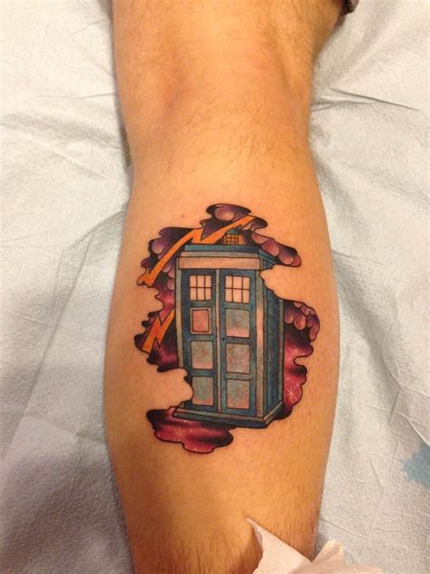 tattoo placement for doctors tardis tattoo so in love and in love on pinterest