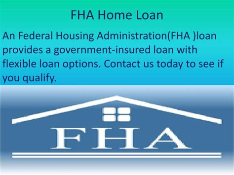 ppt fha home loan island in ny powerpoint