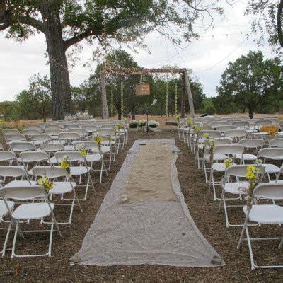 wedding aisle runner outdoor diy an outdoor wedding