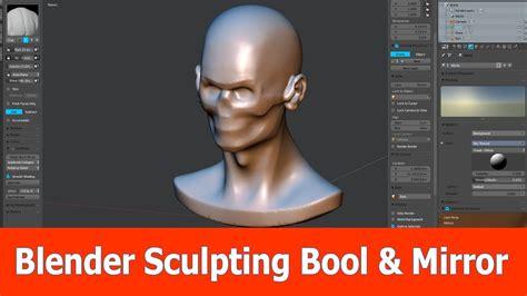 tutorial blender sculpt blender sculpting booltool mirror tutorial youtube