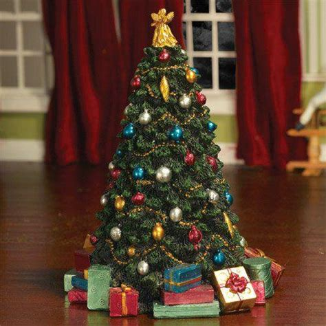the dolls house emporium decorated christmas tree 175mm