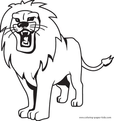 simple lion coloring page lion coloring pages easy coloring coloring pages