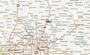 map of allen allen location guide