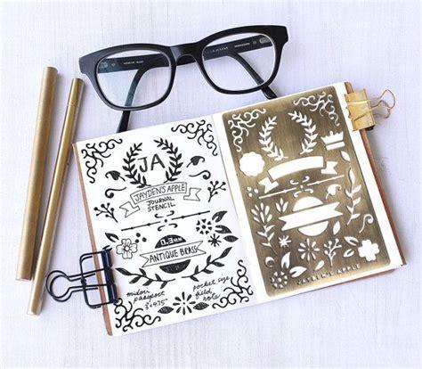 printable bullet journal stencils 1000 images about kitaplar kırtasiye craft kağıt