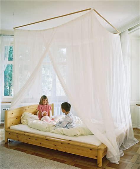 himmelbett gardinen spezial textilien bieten schutz vor elektrosmog