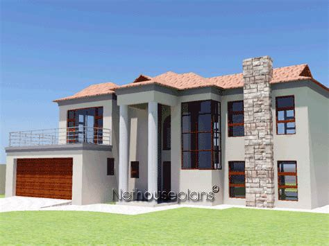 3 bedroom double storey house plans ba250d nethouseplans