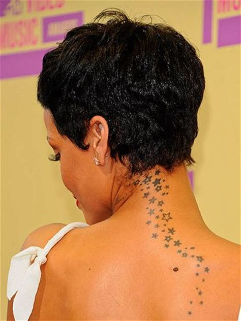 rihanna back tattoo see rihanna s entire collection inspiration