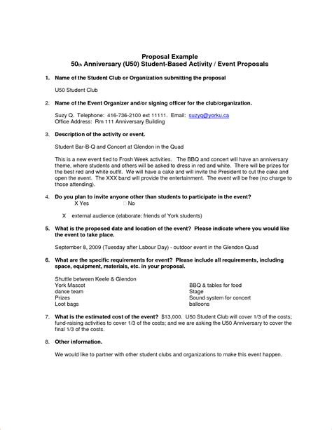 Exles Of Business Proposals by 7 Exles Procedure Template Sle