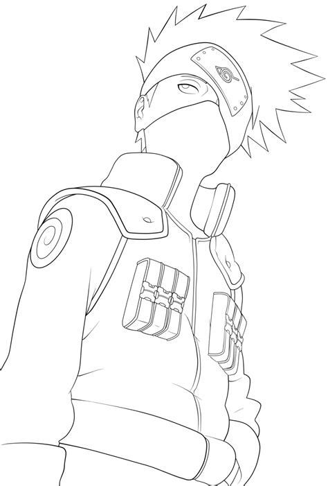 naruto coloring pages kakashi freecoloring4u com