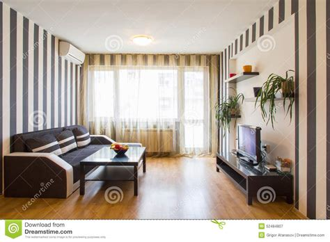 black and white striped room living room with black and white striped walls stock photo image 52484807