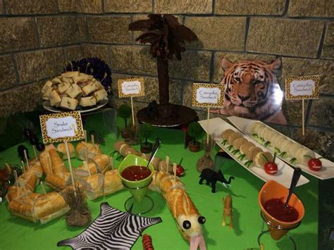 106 best images about leslie s baby shower on pinterest safari food jungles and food labels