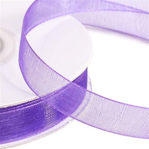 Decorative Ribbon Dress Purple purple organza ribbon ribbon and trims craft supplies
