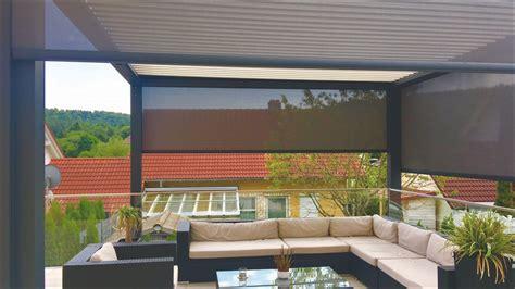 terrasse über eck terrassen 252 berdachung auf einer eck terrasse mit