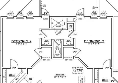 House Plans With Jack And Jill Bathroom jack and jill baths