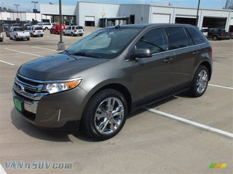 mineral gray metallic ford edge 2012 ford edge limited ecoboost in mineral grey metallic