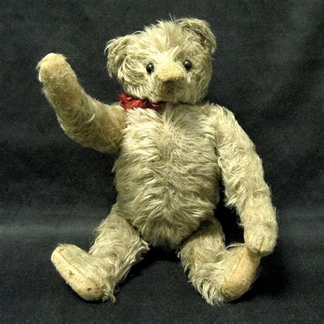 vintage teddy bears 1910 antique mohair jointed teddy bear from toniink on