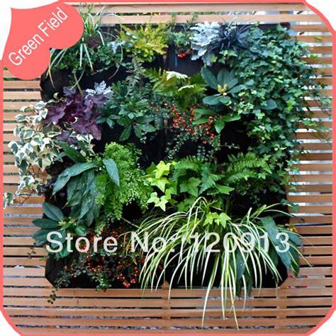 Pocket Garden For Your by 12 Pockets Vertical Garden Green Wall Planter Pot Felt