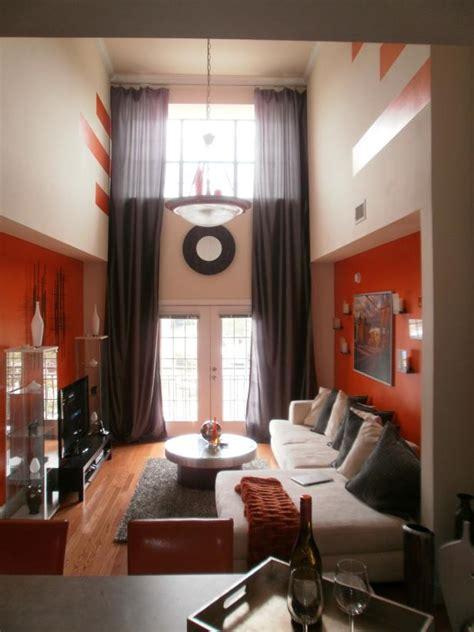 Narrow Loft Living Room Photo Page Hgtv