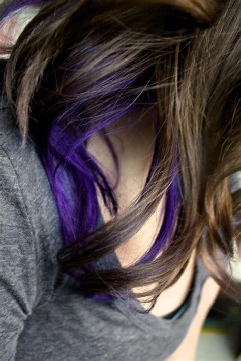 is streaking still popular on hair the 25 best purple streaks ideas on pinterest purple