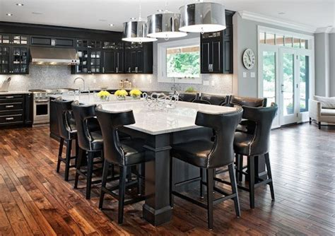 kitchen island ideas with seating improving your kitchen functionality with an island